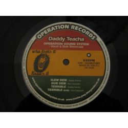 Daddy Teacha & Operation Sound System - Vocal & Dub Showcase - LP