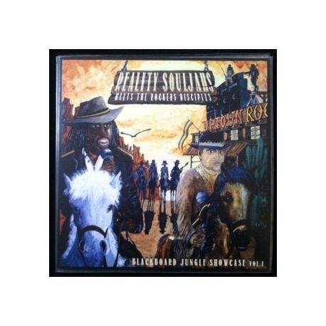 Reality Souljahs / The Rockers Disciples - Blackboard Jungle Showcase Vol.1 - LP