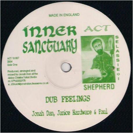 """Jonah Dan / Janice Hardware / Paul Fox  - Dub Feelings / Axumite Realms - 10"""""""