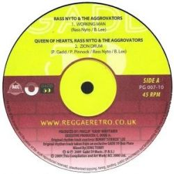 Ras Nyto / The Aggrovators - Working Man - 10""