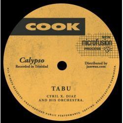 "Cyril Diaz & Orchestra - Tabu / Serenal - 7"""