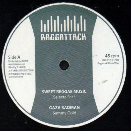 "Selecta Far I / Sammy Gold / Roberto Sanchez - Sweet Reggae Music / Gaza Badman / Nice Up The Dance - 10"""