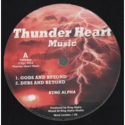 King Alpha - Gods & Beyond / Mysteries Revealed - 10""
