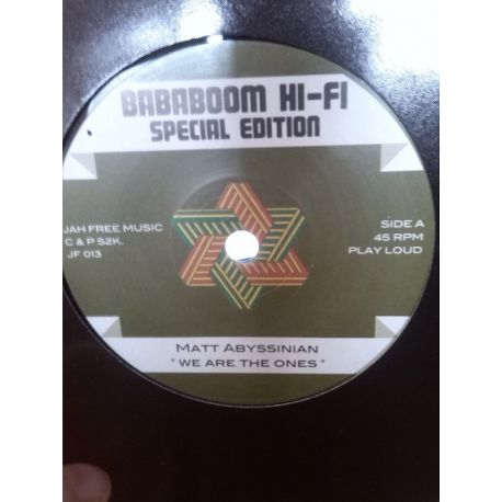 """Matt Abyssinian / Jah Free - We Are The Ones - 7"""""""