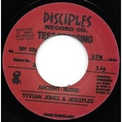 "Vivian Jones / The Disciples  - Ancient Blood - 7"""