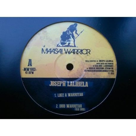 Kai Dub / Joseph Lalibela - Like A Warriyah / Marching Vibration - 10""