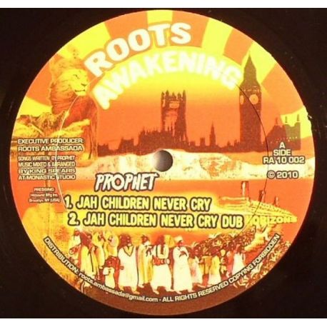 Prophet  - Jah Children Never Cry - 10""