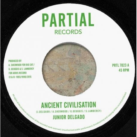 Junior Delgado - Ancient Civilisation / Faya Dubplate Mix - 7""