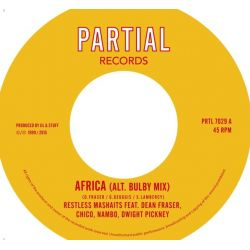 "Restless Mashaits / Dean Fraser / Junior ""Chico"" Chin /  - Africa (Alt. Bulby Mix) - 7"""