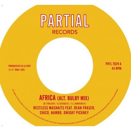 "Restless Mashaits / Dean Fraser / Junior ""Chico"" Chin /  - Africa (Alt. Bulby Mix) - 7"""