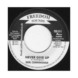 Earl Cunningham - Never Give Up - 7""