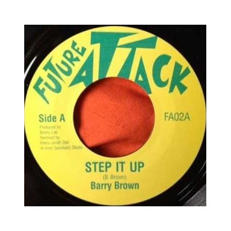 Barry Brown / Jonah Dan - Step It Up - 7""