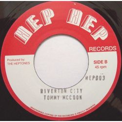 The Heptones / Tommy McCook - Gunmen Coming To Town / Riverton City - 7""
