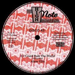 Alton Ellis / The Soul Syndicate - If I Could Rule The World / Lava - 12""