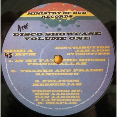 """Various - Disco Showcase Volume One - 12"""""""