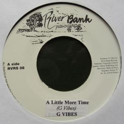 G. Vibes - A Little More Time - 7""