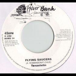 "Tenastelin - Flying Saucers - 7"""