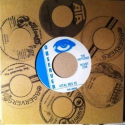 The Heptones - Mount Zion - 7""