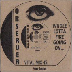 "Freddie McGregor / The Observers - Rasta Have Faith / Organ Satta - 7"""