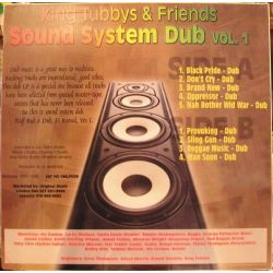 King Tubby / Various - Sound System Dub Vol. 1 - LP