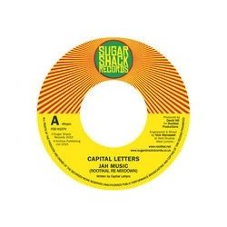 Capital Letters - Jah Music - 7""