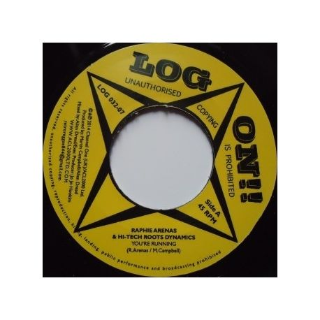 Raphie Arenas / Alien Dread / Hi Tech Roots Dynamics - You're Running - 7""