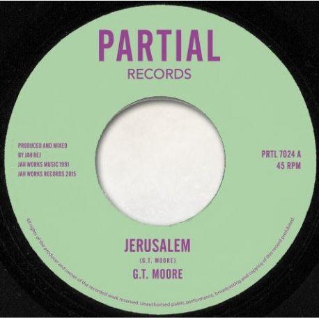 "G.T. Moore - Jerusalem / Solomon's Temple - 7"""