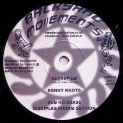 """Kenny Knots / Lutan Fyah - Ceasefire / No Stress We - 10"""""""