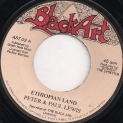 Peter & Paul Lewis - Ethiopian Land - 7""