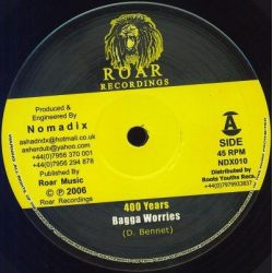 Bagga Worries , Bongo Asha - 400 Years , Soloman's Dream - 10""