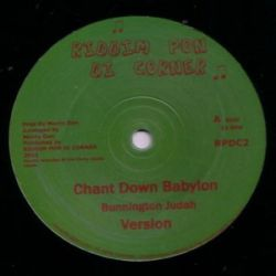 Bunnington Judah - Chant Down Babylon - 10""