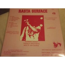 Norman Grant / Twinkle Brothers / Jah Shaka - Rasta Surface - LP