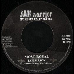"""Jah Mason - Most Royal - 7"""""""