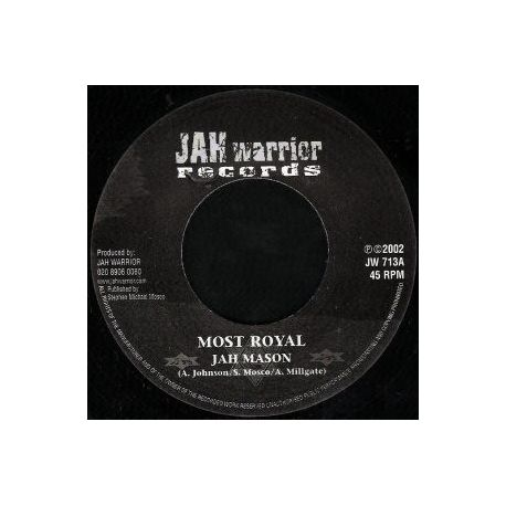 Jah Mason - Most Royal - 7""