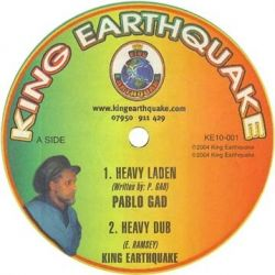 "Pablo Gad - Heavy Laden / Weapons Of Mass Destruction - 10"""