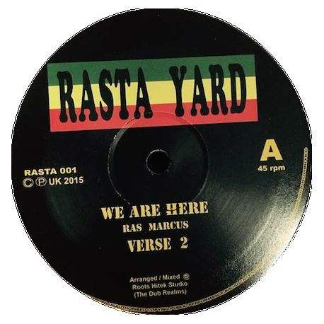 Ras Marcus / Ras Tuffy Irie - We Are Here  /  Chalice Hard - 12""