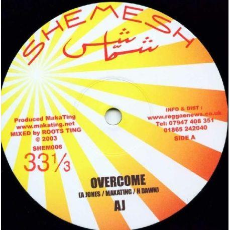 """AJ  - Overcome - 10"""""""