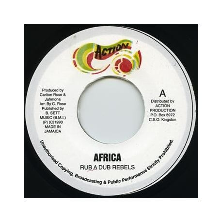 Rub A Dub Rebels - Africa - 7""