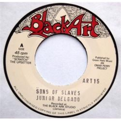 Junior Delgado - Sons Of Slaves - 7""