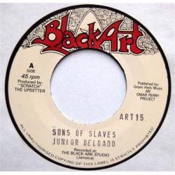 """Junior Delgado - Sons Of Slaves - 7"""""""