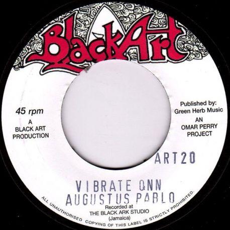"Augustus Pablo - Vibrate Onn - 7"""