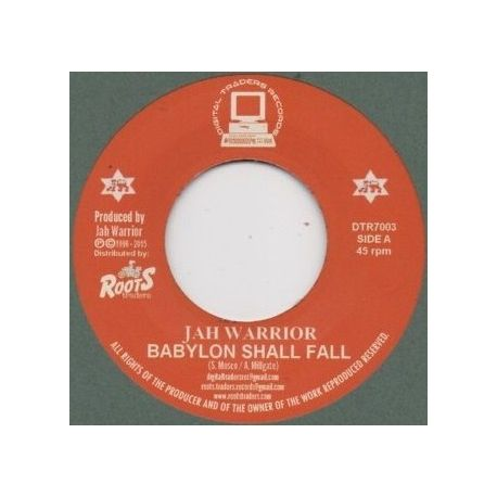 Jah Warrior - Babylon Shall Fall - 7""