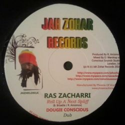 Ras Zacharri / Jah Zohar - Roll Up A Next Spliff / Marching Home - 12""