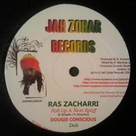 "Ras Zacharri / Jah Zohar - Roll Up A Next Spliff / Marching Home - 12"""