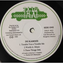 Ini Kamoze - World A Music - LP