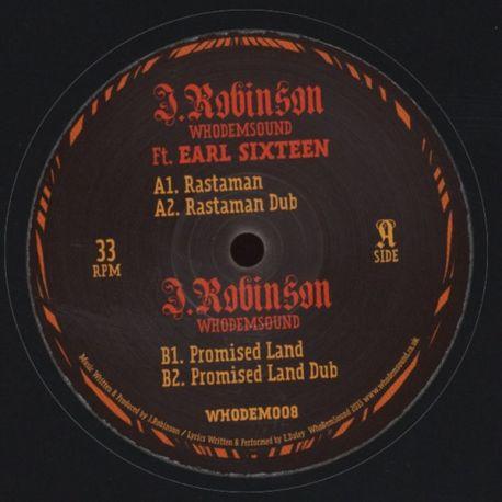 """J. Robinson  - Rastaman - 12"""""""