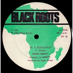 Sugar Minott - In A Rub-A-Dub - 12""