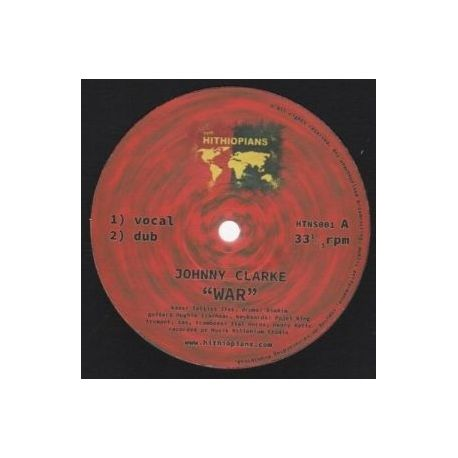 Johnny Clarke / Hughie Izachaar - War  - 10""