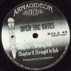 Armagideon - Open The Gates - 10""