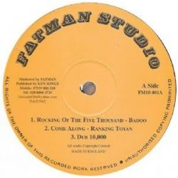 Badoo / Toyan / Jah Stitch - Rocking Of The Five Thousand - 10""